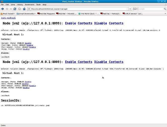 mod_cluster Documentation